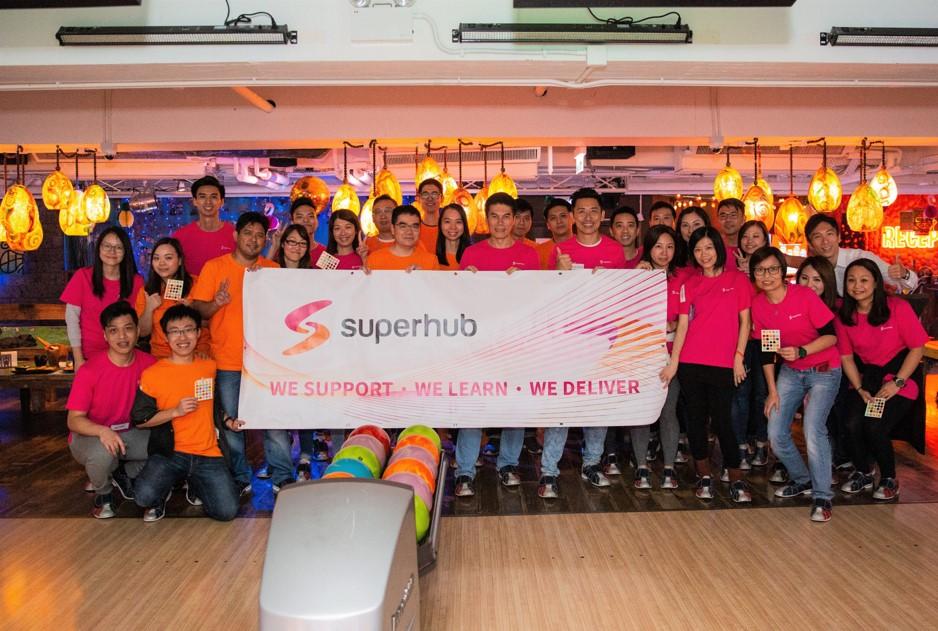 Superhub Bowling Day